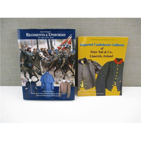 CIVIL WAR UNIFORM BOOKS