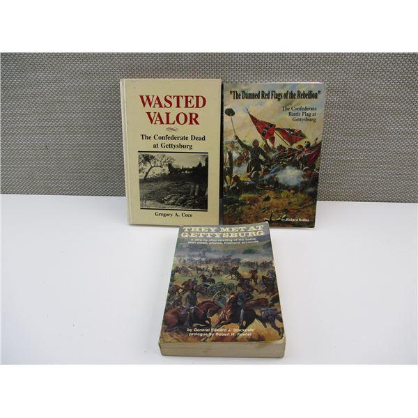 ASSORTED GETTYSBURG BOOKS
