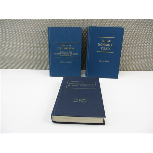 ASSORTED GETTYSBURG BOOKLETS