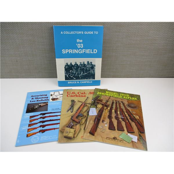 ASSORTED RIFLE BOOKLETS.