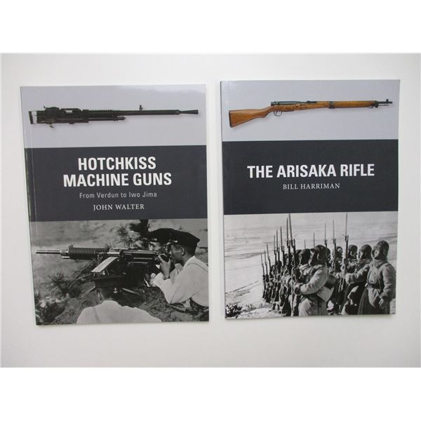 MILITARY WEAPON BOOKS