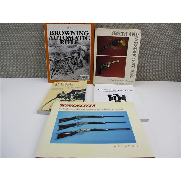 ASSORTED WEAPON BOOKLETS