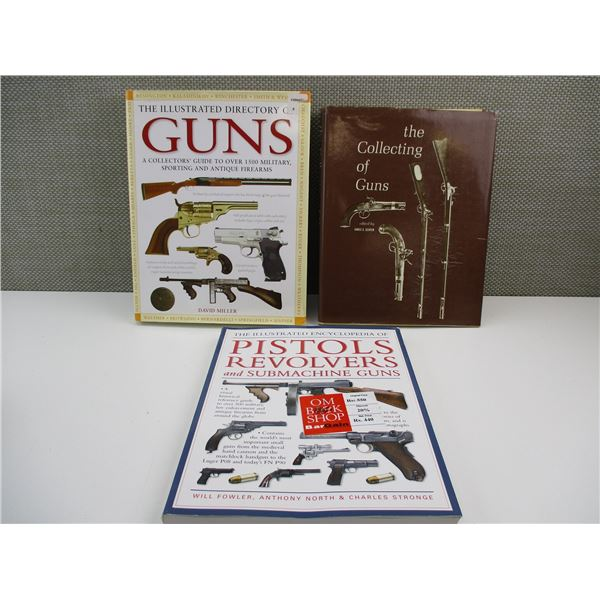 ASSORTED GUN BOOKLETS