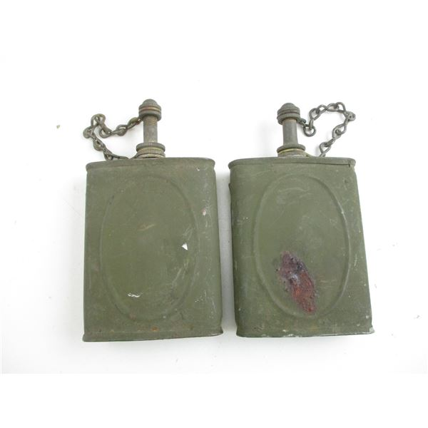 U.S. M1 BROWNING 1919/1918 MG OIL CANS