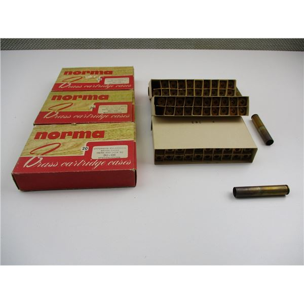 NORMA 30-06 BRASS CASES