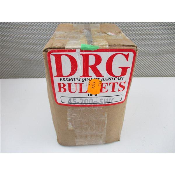 DRG .45 CAL, 200 GRN BULLETS
