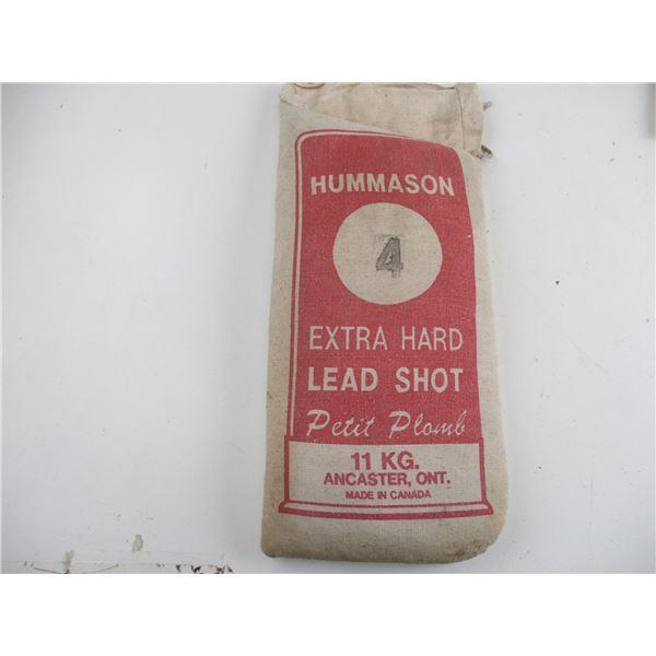 HUMMASON EXTRA HARD NO. 4 LEAD SHOT