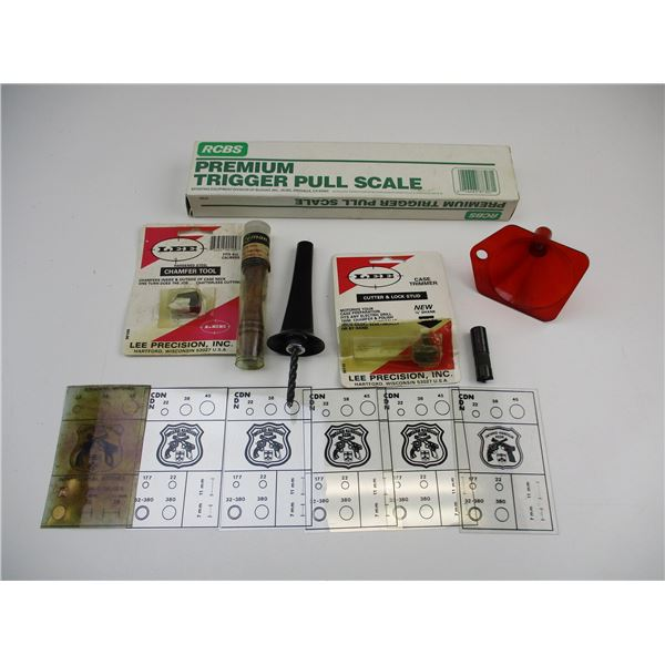 ASSORTED RELOADING ACCESSORIES