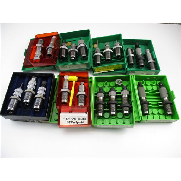 ASSORTED RELOADING DIE LOT