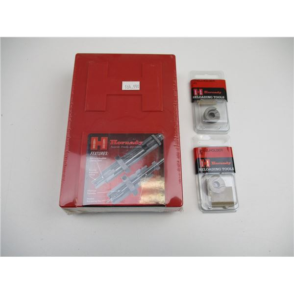 HORNADY SHELL HOLDERS AND DIE SET