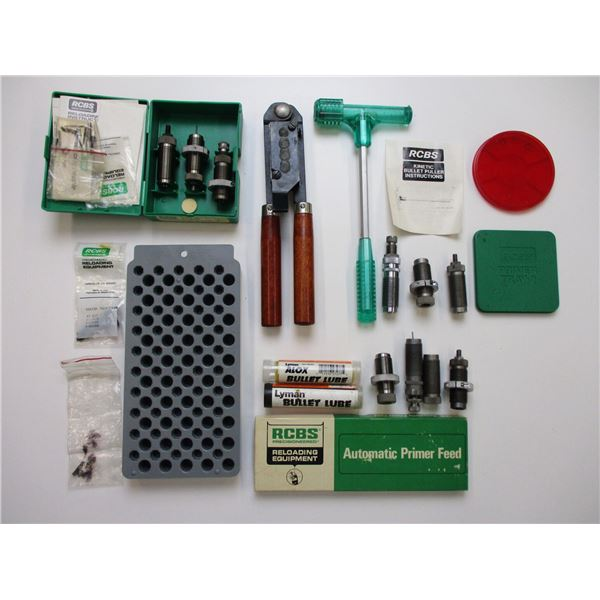 ASSORTED RELOADING LOT
