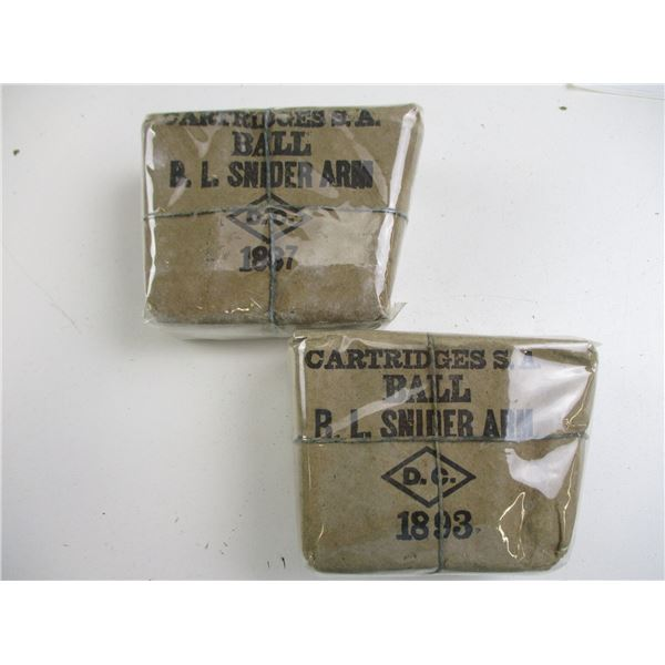 B.L. SNIDER ARM CANADIAN COLLECTIBLE AMMO