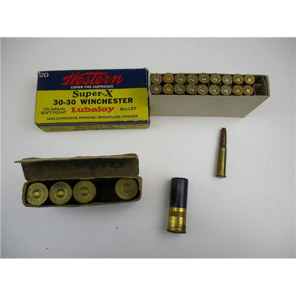 ASSORTED COLLECTIBLE AMMO LOT