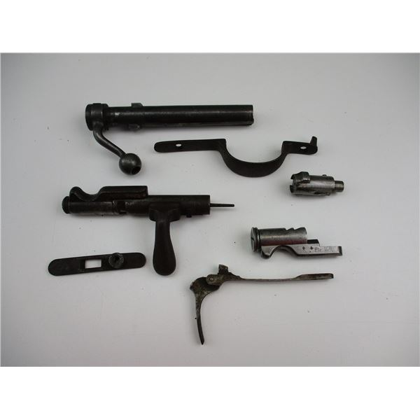 ASSORTED FRENCH RIFLE PARTS ETC