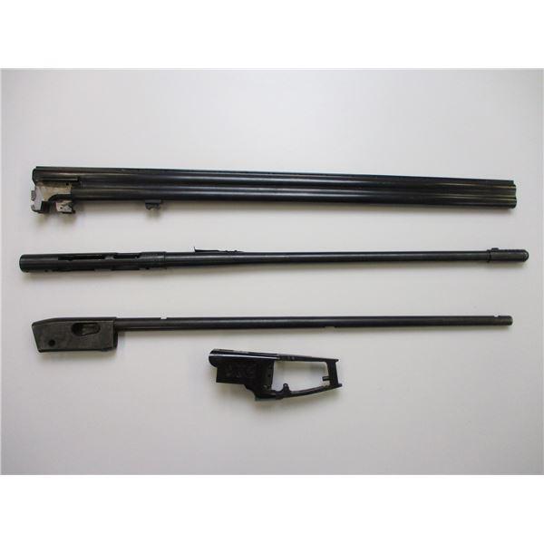 ASSORTED RIFLE & SHOTGUN RECEIVERS & BARRELS