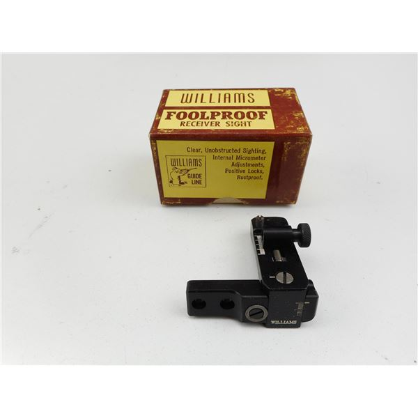 WILLIAMS FOOL PROOF RECEIVER SIGHT