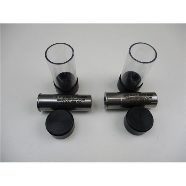 THE SHOOTERS BOX 12 GAUGE CHAMBER ADAPTERS