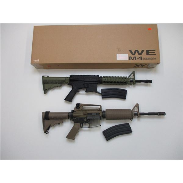 WE M4 GAS BLOWBACK TYPE AIRSOFT GUN + BB GUN