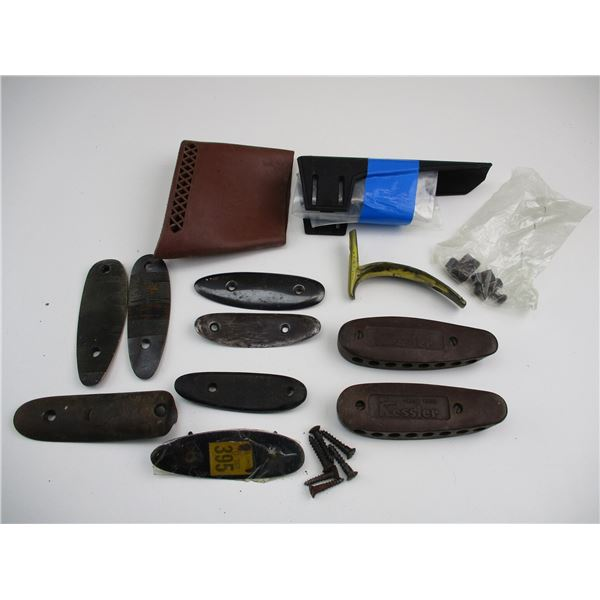 ASSORTED BUTTPLATES & RECOIL PADS
