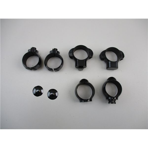 """ASSORTED 1"""" SCOPE RINGS"""
