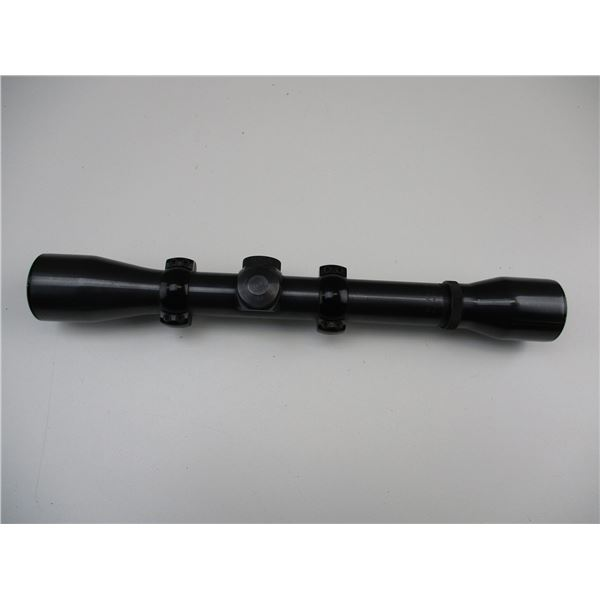 WEAVER MARKSMAN 4X SCOPE WITH 22 STYLE SCOPE RINGS