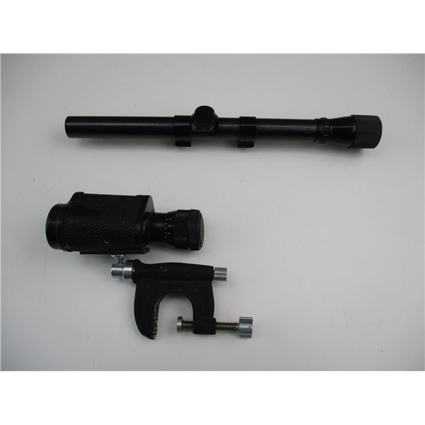WEAVER 06 4X SCOPE WITH SPOTTER SCOPE