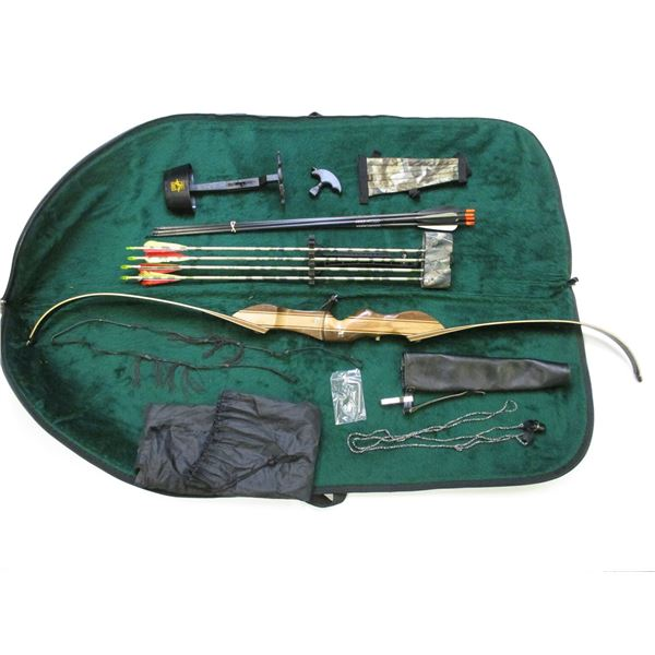 RAGIM RECURVE BOW WITH ACCESSORIES