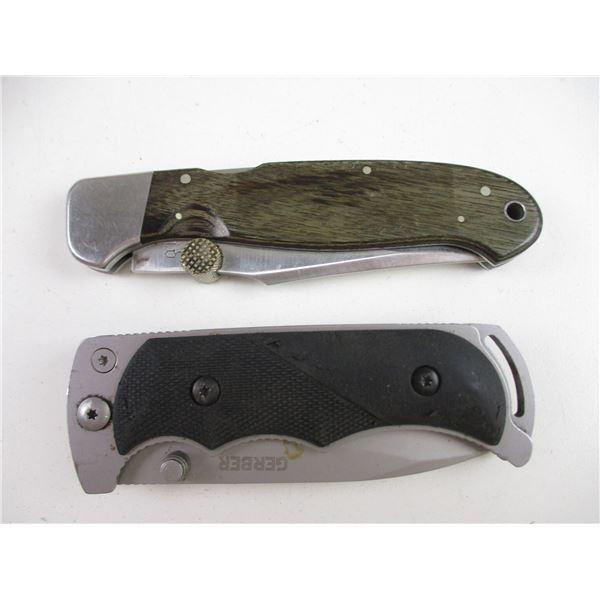GERBER & RIGID POCKET KNIVES