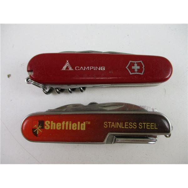 SWISS ARMY KNIFE + SHEFFIELD UTILITY KNIFE