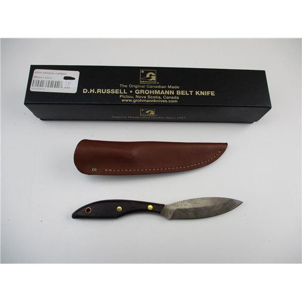 GROHMANN #1 ORIGINAL CARBON STEEL KNIFE