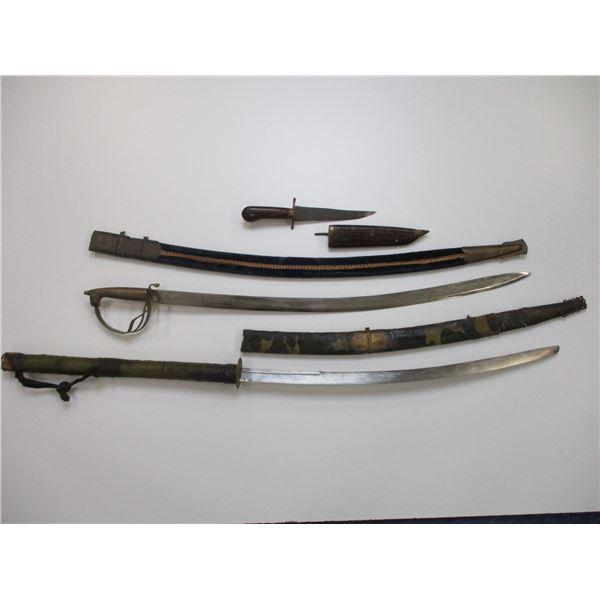 TOURIST MADE SWORDS & KNIFE