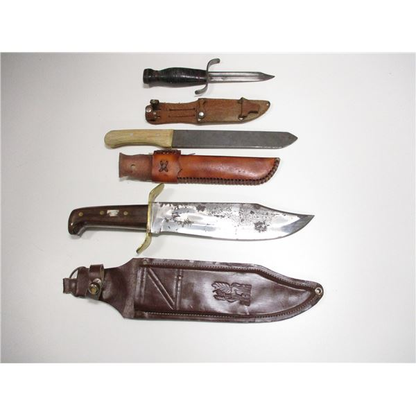 BOWIE & SURVIVAL TYPE KNIVES