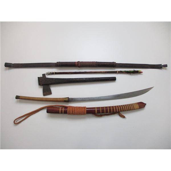 SWORD & AXE + BOW