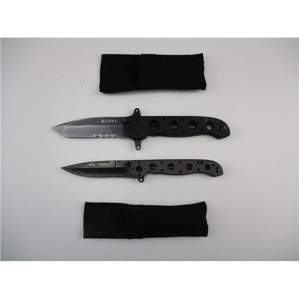 CRKT FOLDING KNIVES