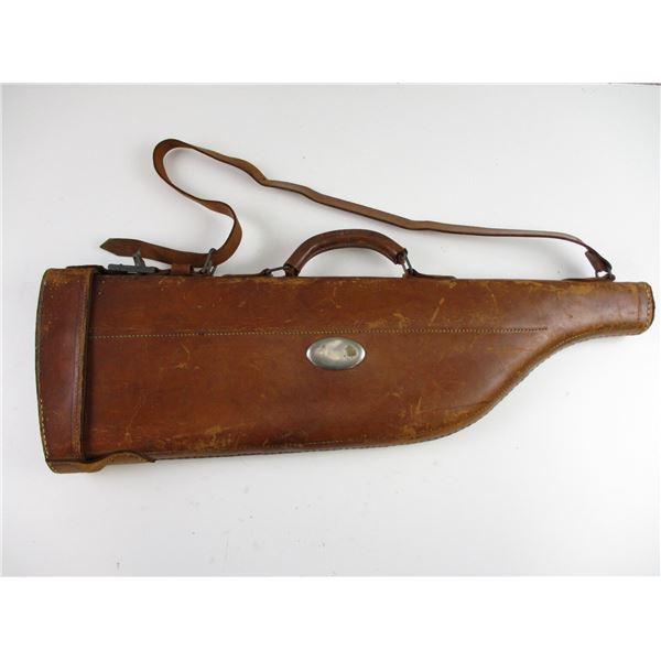 LEATHER RIFLE / SHOTGUN TAKE DOWN CASE