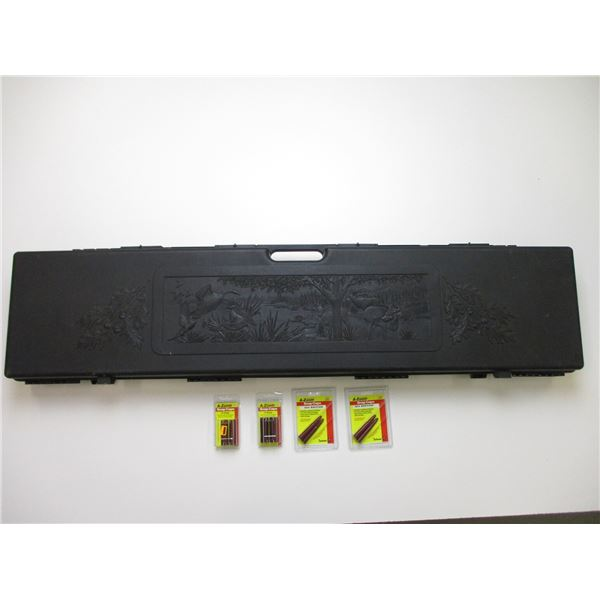 RIFLE HARD CASE WITH SHOTGUN & RIFLE SNAP CAPS