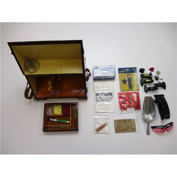 HANDGUN RANGE BOX + ACCESSORIES