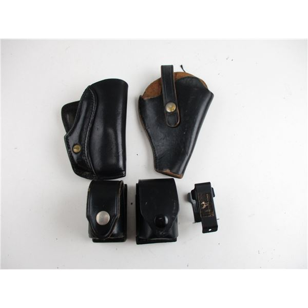 REVOLVER LEATHER HOLSTERS & SPEEDLOADER HOLSTERS