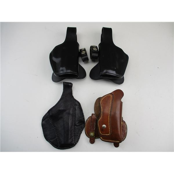 LEATHER SEMI-AUTO STYLE HOLSTERS