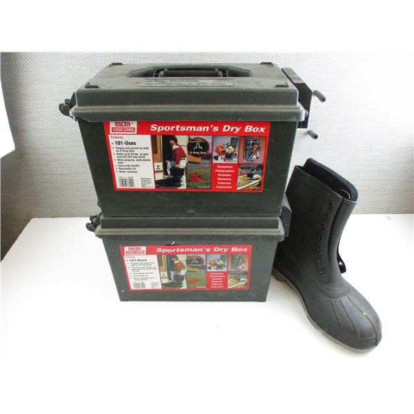 MTM SPORTSMAN DRY BOXES + BOOT