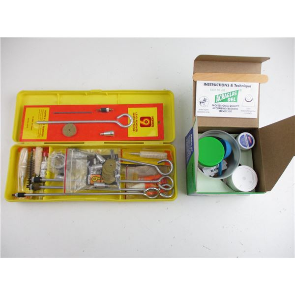 HOPPES LEAD REMOVER KIT + ACCURIZING / BEDDING SERVICE KIT