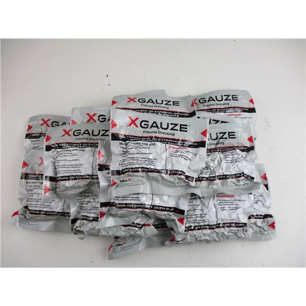 X GAUZE TRAUMA DRESSING PACKS