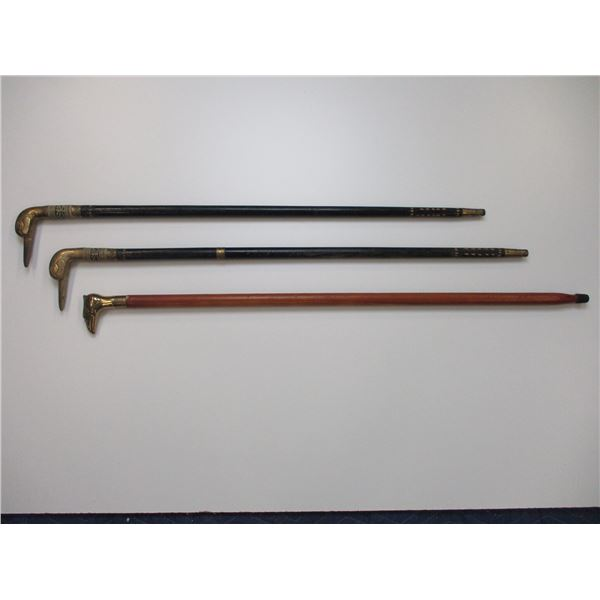 ASSORTED WALKING CANES