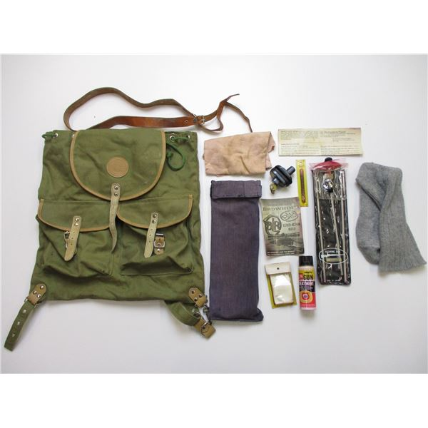JAGUAR MILITARY STYLE BAG WITH ACCESSORIES