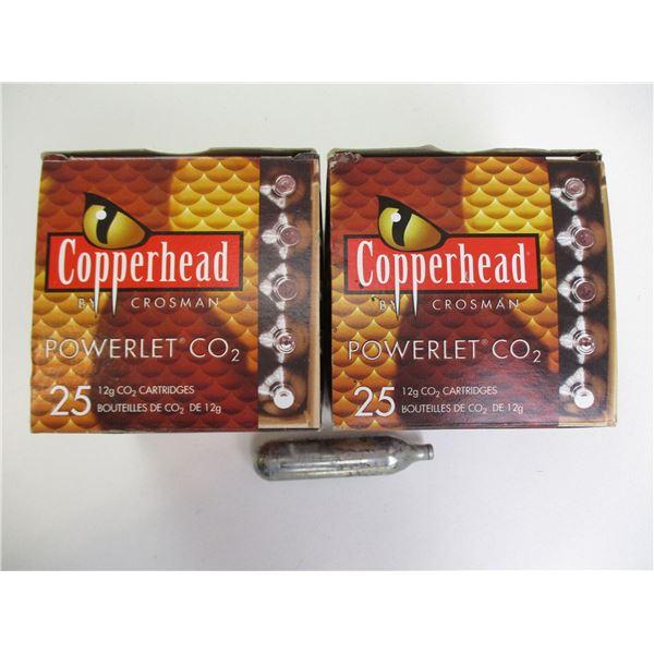 CROSMAN COPPERHEAD Co2 CARTRIDGES