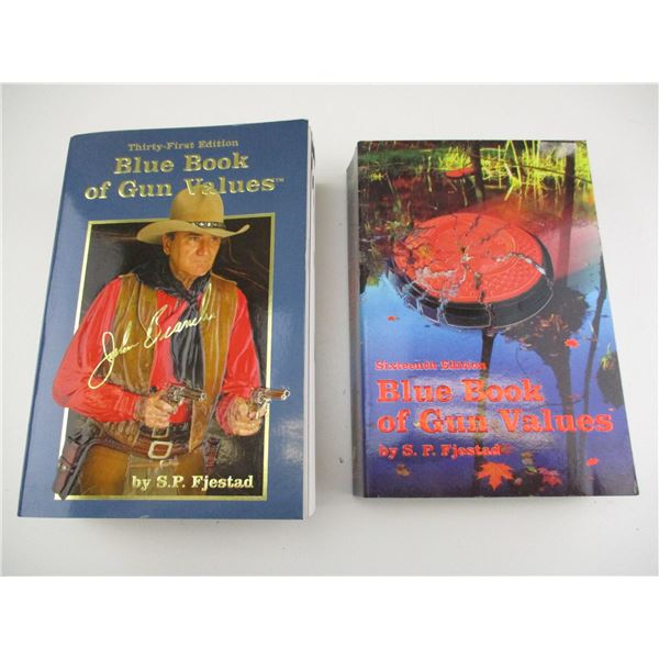 BLUE BOOK OF GUN VALUES BOOKS