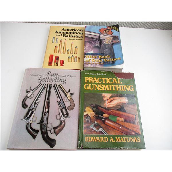 ASSORTED GUN & AMMO BOOKS
