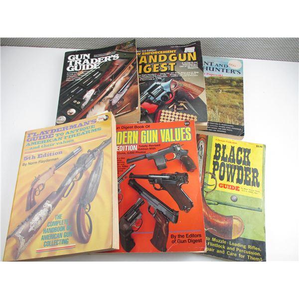 ASSORTED GUN BOOKS