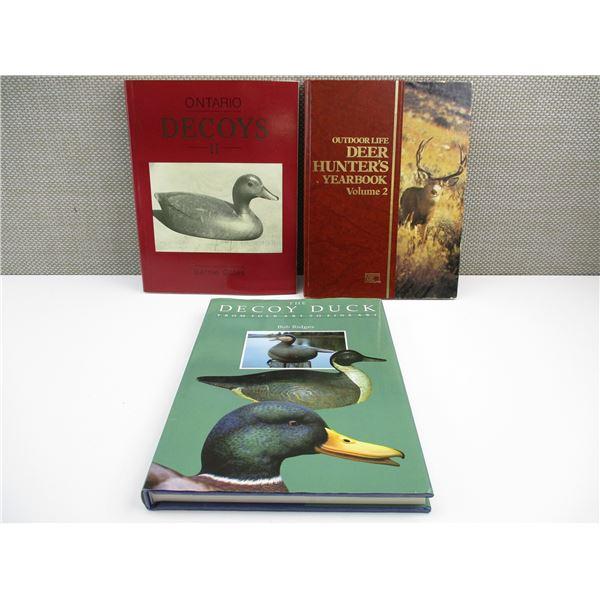 DUCK DECOY & DEER HUNTING BOOKS