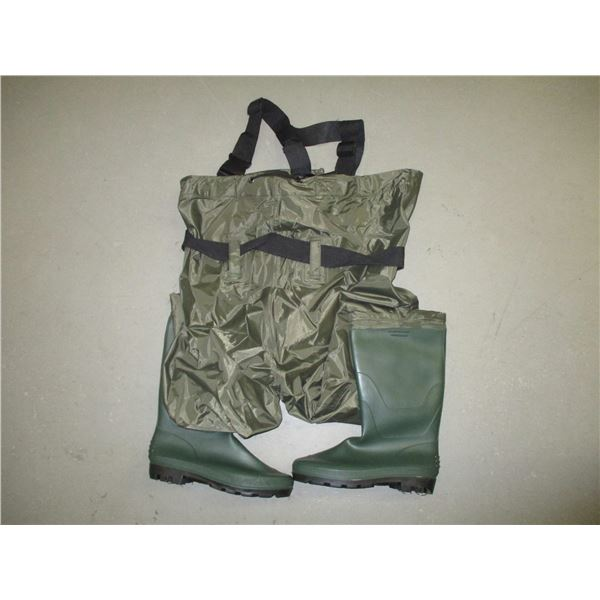 SIZE 13 CHEST WADERS